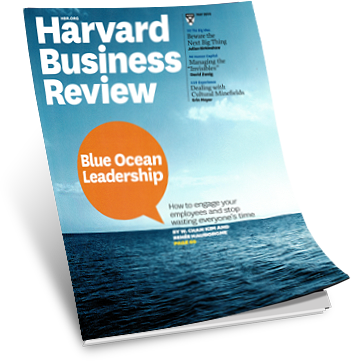Blue Ocean Leadership Harvard Business Review May 2014