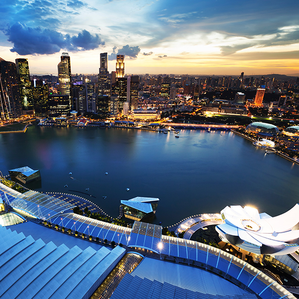 Asia / Singapore blue ocean strategy