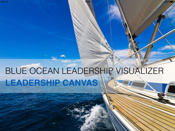 blue ocean leadership canvas app